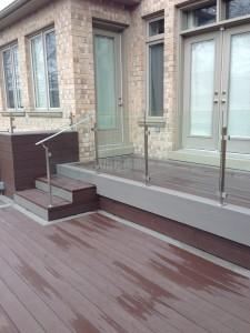 glass railings in Toronto