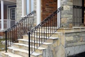 stainless steel railings in Toronto